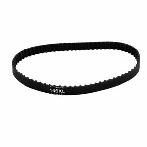146XL Timing Belt 73 Teeth 10 mm Width 5.08mm Pitch Stepper Motor Rubber Black
