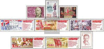kompl.ausg. 3929 Gestempelt 1971 Rutherf Warm Und Winddicht Sowjetunion 3921,3922,3923,3924-3928