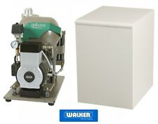 Dentalkompressor EKOM DK50-10 S/MD schallgedämmt mit Trockner - Laborqualität