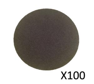 """2/"""" Hook and Loop Velcro P180-100 Discs Discs -P60 50mm Sanding Discs P120"""