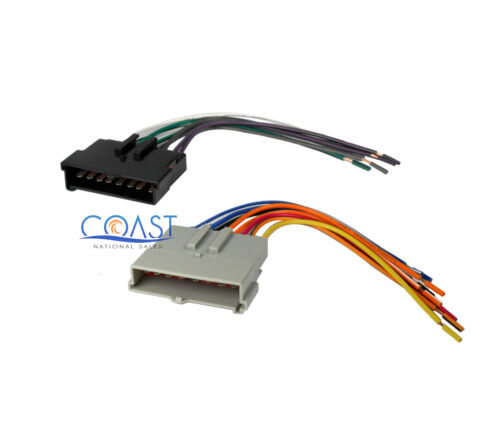 Car Aftermarket Radio Stereo Wiring Harness for 1985-up Ford Lincoln Mercury