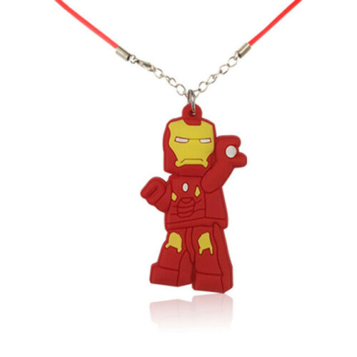 Kids  Necklace pendant Rubber 3d character Key Ring Keyring Key Chain