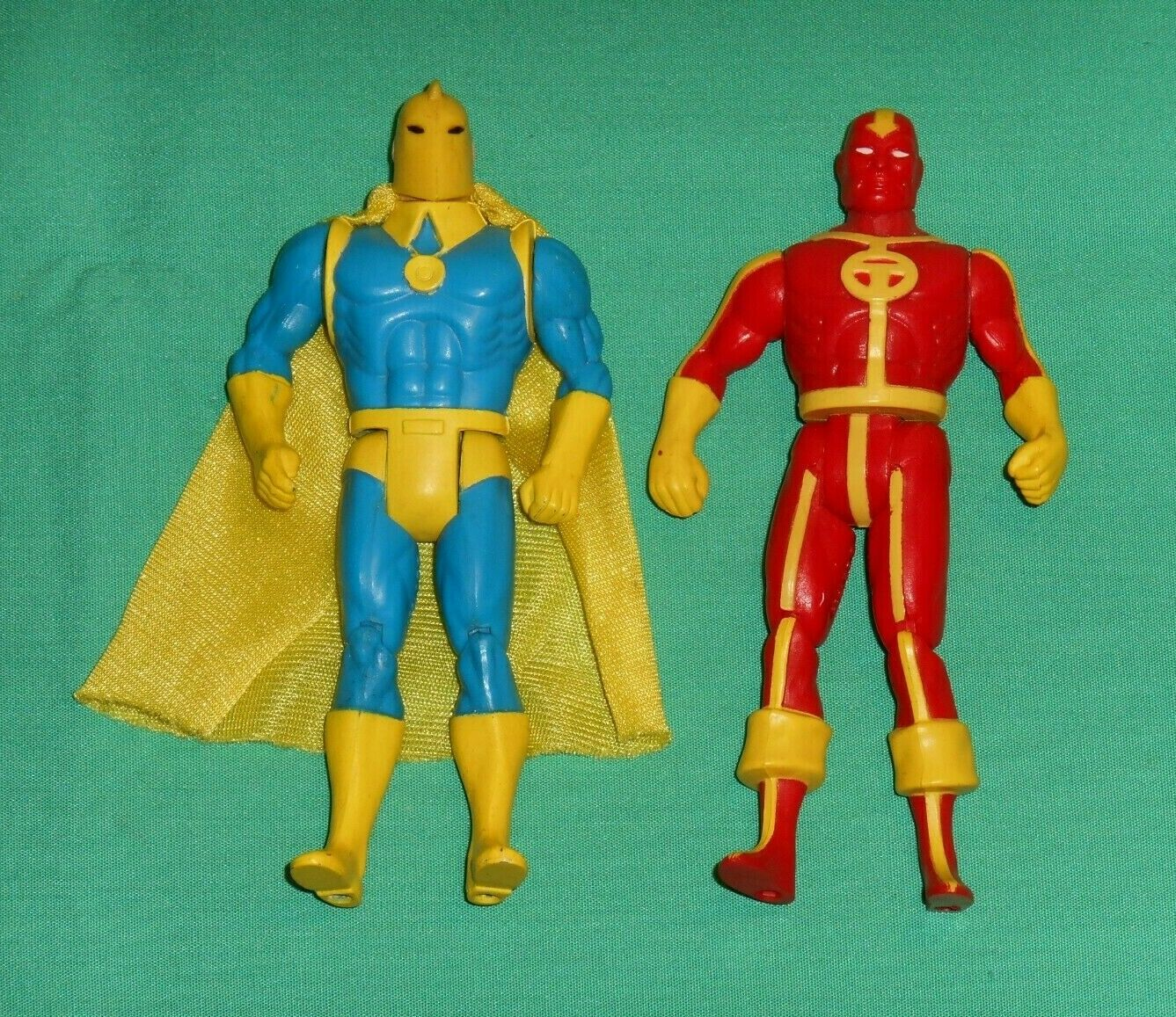 Jahr Kenner Super Powers DR. FATE + rot TORNADO Masse