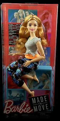 Curvy with Auburn Hair Babie Made to Move Doll