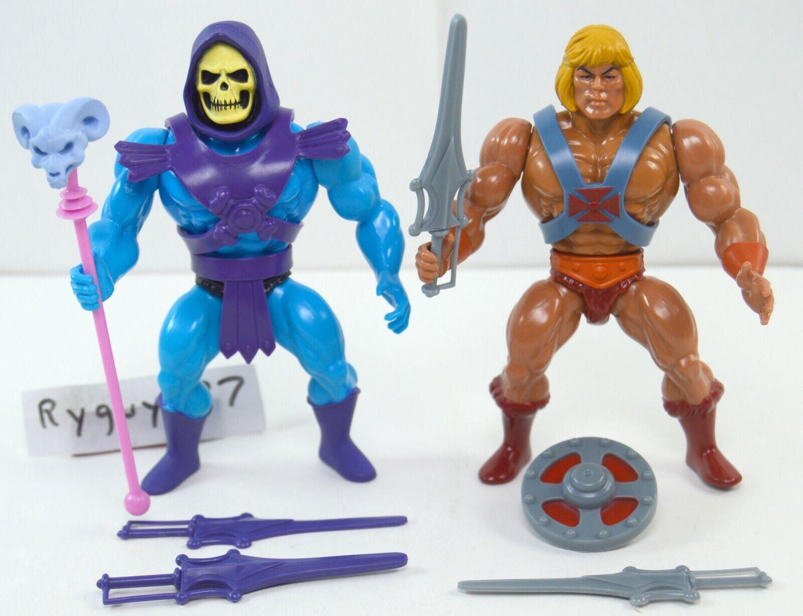 MOTU, He-Man & Skeletor Filmation Style, Masters of the Universe, Super7, figure