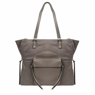 NEW Kooba Everette GK1206//08 TAUPE Tote HandBag with Gold Tone Hardware NWT