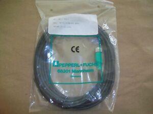 Pepperl-amp-Fuchs-Molded-Cord-Set-KD-V1-G-5M-PVC-4-POLE-5-METER-NEW