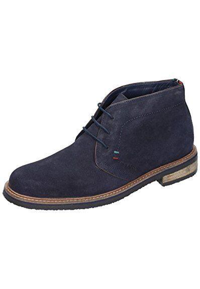 Manitu Herren Schuhe Boots, Stiefel, Halbschuhe Stoff dunkelblau Gr. 44 NEU!!!