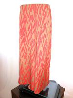 AH1 Vintage Look Boho Hippy Festival Occasion Abstract Wide Leg High Waist Pants