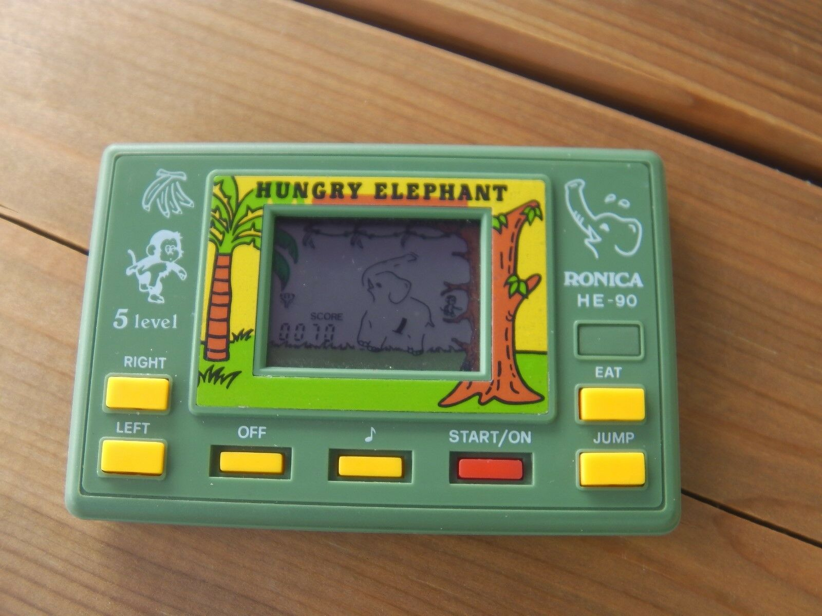 Lcd game game game Ronica   Hungry elephant   game watch ec4a1d