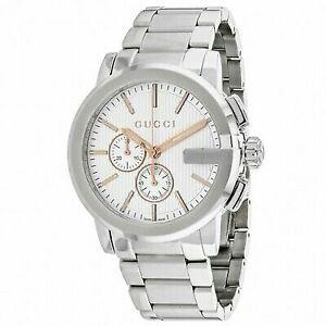 62983f6b3d6 Mens Quartz Chronograph Gucci Watch YA101201 731903353886 for sale ...