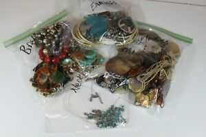 LOT Of Miscellaneous COSTUME JEWELRY  2.5 lbs