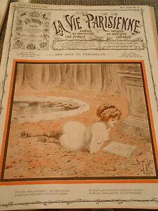 Aux Amis De Versailles Girl Nue Dans Le Parc Couverture Print Cover 1909 Jeoks7xn-07172602-180568240
