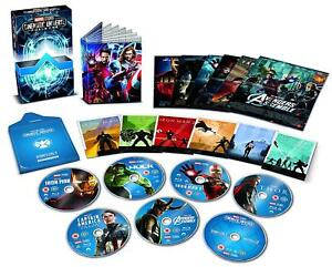 Details about Marvel Cinematic Universe Phase One 1 [Blu-ray] Collector's  Edition 6-Movie Set