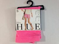 Hue Women's Chinos Shorts Stretch Neon Pink Small 4 - 6 Cotton Poly Spandex