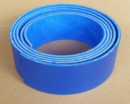 Belts Blue Leather Strips 8-9 oz - Guitar Straps Dog collars 3.2-3.6 mm