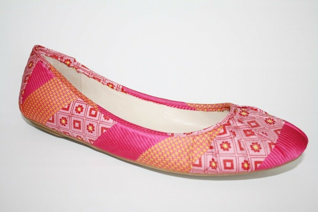 Womens shoes Nine West blueSTERY Ballerinas Ballet Flats Slip On Pink Multi