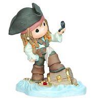 Precious Moments Disney Jack Sparrow Figurine, New, Free Shipping on Sale