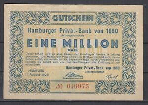 Hamburgo-Hamburguesa-Privat-Bank-de-1860-1-Millon-Marco-G26