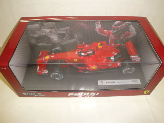 Cadeau de fin d'année, vente directe à l'usine die cast 1/18 Ferrari F2008 K.Raikkonen Hot Wheels | Qualité Fine  | De Haute Sécurité  | Bien Connu Pour Sa Fine Qualité  | Outlet Store En Ligne