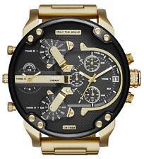 Nuevo Diesel dz7333 Para Hombre Señor Daddy 2.0 Tickets Reloj Cronógrafo - 2 Año De Garantía