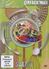 DVD + Vegetarische Küche + Salate + Kochen für Singles + Kochschule + NEU + OVP