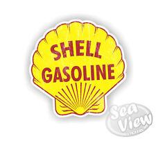 Retro Shell Gas Combustible coche van calcomanía de pegatinas Divertidas pegatina