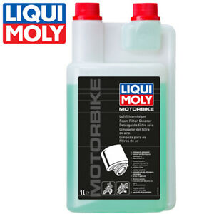 Liqui Moly Motorbike Luftfilter Reiniger 1299 1L Motor foam cleaner 2T/4T Racing