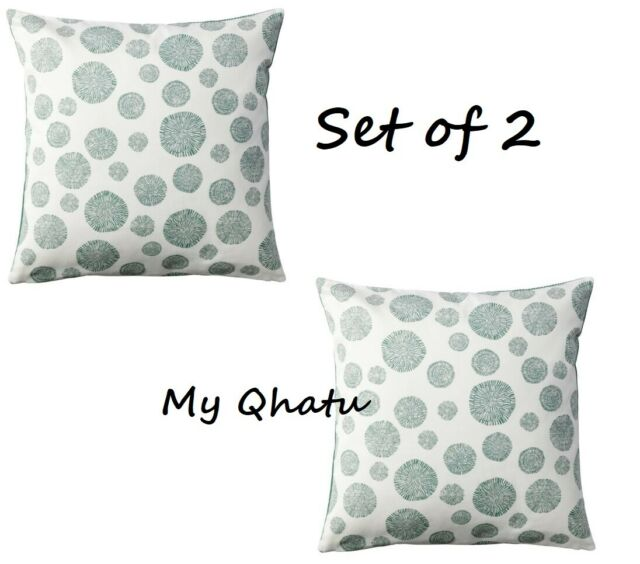 2 X Ikea Tradpalm Pillow Cushion Cover