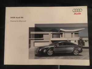 2008 audi s6 owners manual super rare buy oem ebay rh ebay com 2008 audi a6 quattro owners manual 2008 audi a6 repair manual
