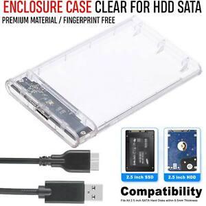 Slim-2-5-Inch-SATA-to-USB-3-0-External-Hard-Drive-HDD-SSD-Enclosure-Caddy-Case