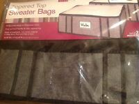 Simplify Zippered Top Sweater Bags Storage Bags Granite Nip