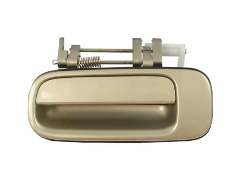 Beige Gold Rear Left Driver Outside Exterior Door Handle for 92-96 Toyota Camry