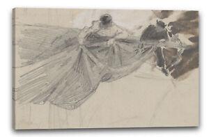 Kunstdruck John Singer Sargent - Two Sailors Furling Sail (from scrapbook)
