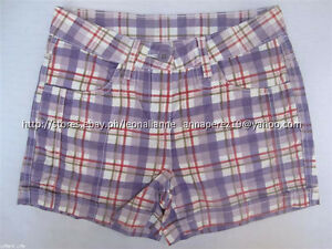 67-OFF-AUTH-HERE-THERE-GIRL-039-S-PLAID-SHORTS-EUR-134-US-9-10-BNEW-US-15