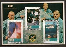 NIUE 1989 SPACE LANDING ON THE MOON SC # 572 MNH