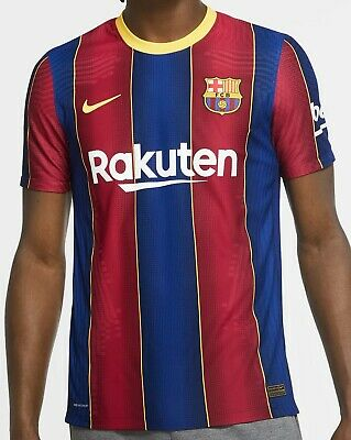 Nike Fc Barcelona Jersey 2021 Vapor Match Authentic Messi Football Soccer 21 Ebay