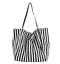 miniature 15 - Women-Large-Canvas-Shopping-Bag-Fashion-Striped-Cloth-Reusable-Tote-Bag
