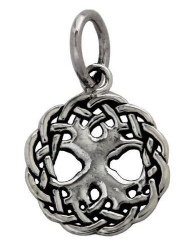 Maya pequeño árbol de la vida remolques plata Gothic joyas-nuevo