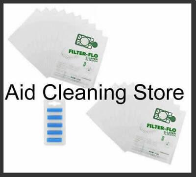 1 x Bags /& 5 Fresheners fit Numatic Henry Hetty Hoover Bag Vacuum Cleaner