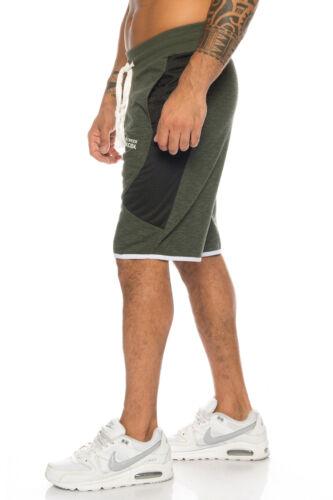 SHIKOBA Herren Sweatshorts Bermuda Shorts Trainingsshorts kurz Hose SH-13 S-3XL