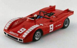 Abarth Sp 2000 # 9 Dns (accident) GP Mugello 1970 N. Vaccarella Modèle 1:43