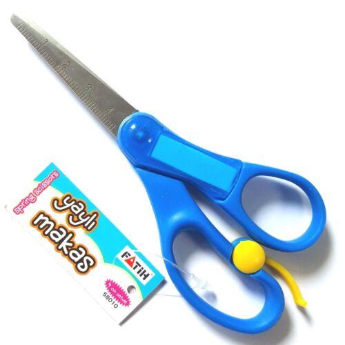 Ressort Plaquette Règle Children/'s ciseaux 13.5 cm long super qualité