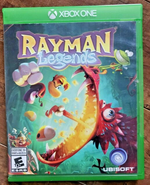 Rayman Legends (Microsoft Xbox One, 2014) COMPLETE