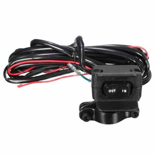 Handlebar Control Line Winch Rocker Switch Handlebar Control Warn For ATV UTV