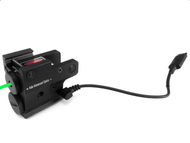 Sub Compact Green Pistol Laser Fits SpringField Xd 40 Xdm 3.8 Glock S&W 17 19