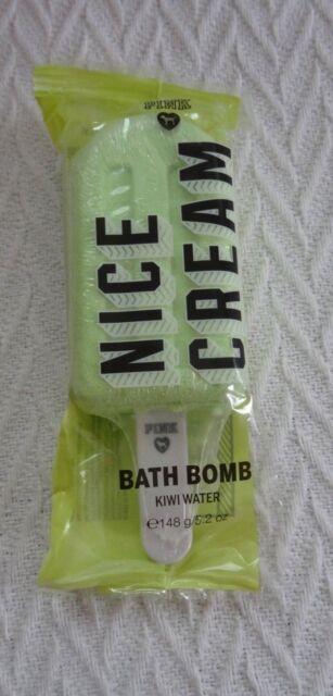 c55d7a583c0f4 4 Victoria's Secret Pink Popsicle Kiwi Water Bath Bomb Fizzy 5.2 Oz 148 G