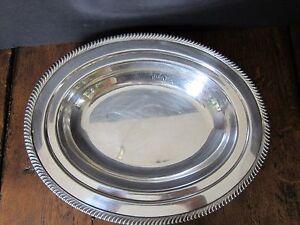Vintage Continental EPNS Oval Serving Bowl