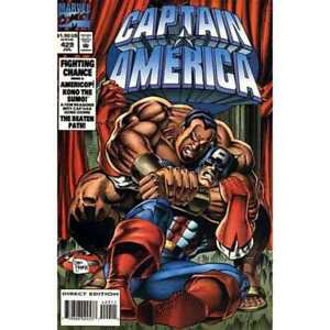 Captain America (1968 series) #429 in Near Mint + condition. Marvel comics [*jx]