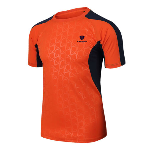 Men/'s Quick Dry T-Shirt Cooling All Sports Athletic Short Sleeve Tee Shirt Top